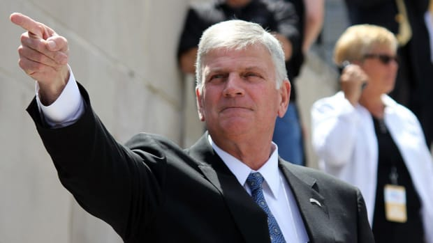 Franklin Graham: 'We're Going To Lose This Country' (Video) Promo Image