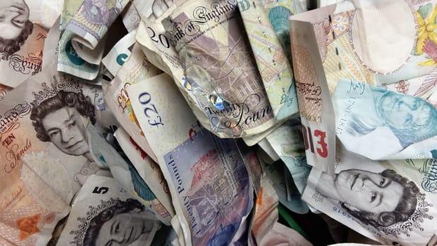 Value Of British Pound Mysteriously Falls Six Percent Promo Image