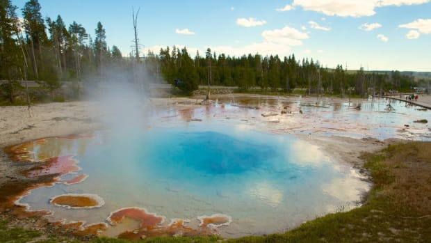 Yellowstone: Man's Body Dissolved In Hot Spring Promo Image