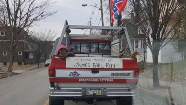 Pickup Truck Decorated For MLK Assassin On MLK Day Promo Image