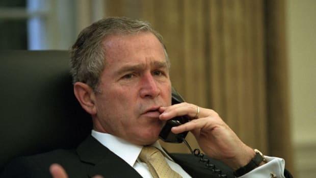 George W. Bush: Media 'Indispensable' To Democracy  Promo Image