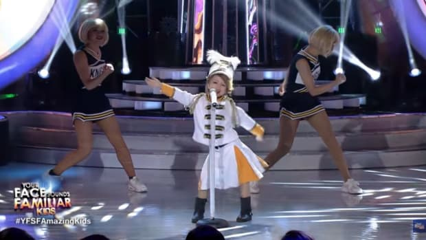 7-Year-Old's Taylor Swift Performance Sparks Controversy (Video) Promo Image