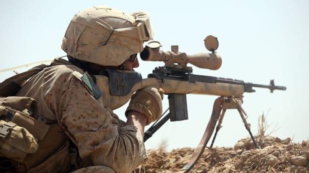 Sniper Kills ISIS Executioner Preparing To Kill Hostages Promo Image