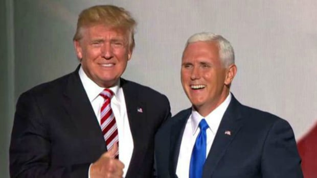 Pence Removes Chris Christie Lobbyists From Trump Team Promo Image