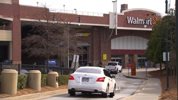 Elderly Woman Attacked While Shopping At Wal-Mart (Photo) Promo Image