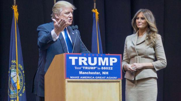 Report: Trump Made Melania Slim Down After Pregnancy Promo Image