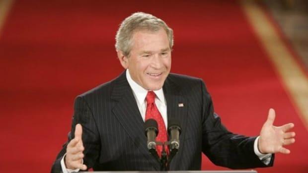 George W. Bush: Trump's Inauguration Was 'Weird S**t' Promo Image
