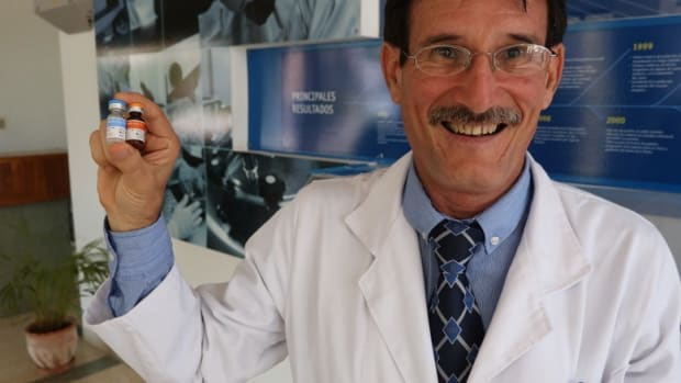 New York To Begin Trials On Cuban Lung Cancer Vaccine Promo Image