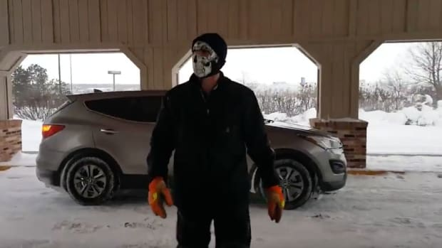 Masked Men Threaten DAPL Protesters, Arrest Made (Video) Promo Image