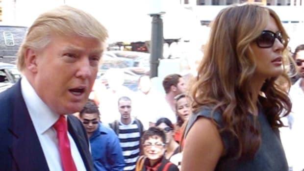 Awkward Moment Between The Trumps At Inauguration? (Video) Promo Image