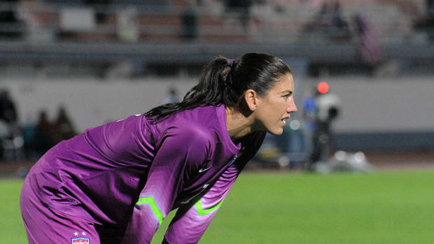 Hope Solo Criticized For Comments After U.S. Soccer Loss Promo Image