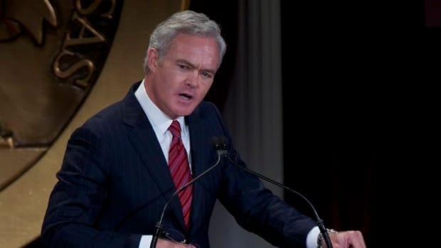 CBS News Anchor Scott Pelley Fired Promo Image