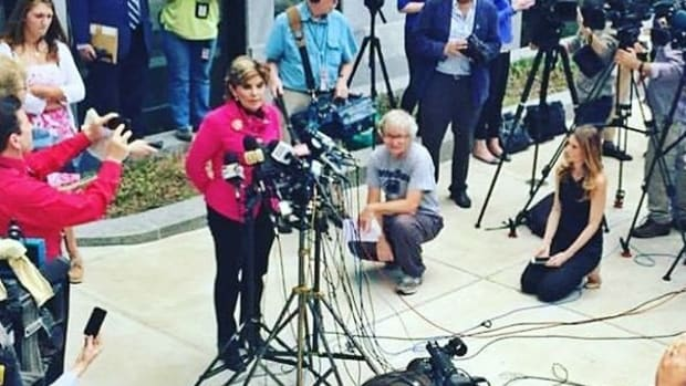 Gloria Allred Announces Trump Sexual Assault Lawsuit  Promo Image