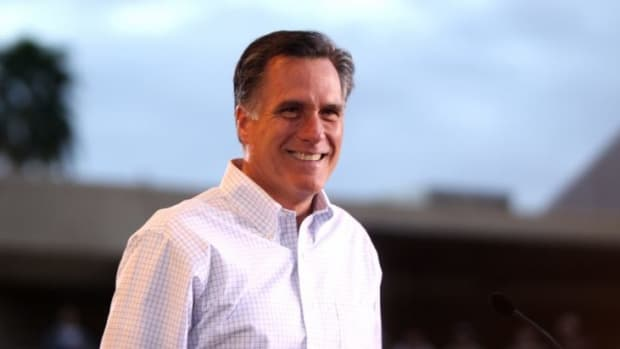 Trump Allies Don't Want Romney As Secretary Of State Promo Image