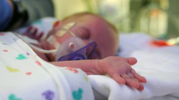 Preemie Baby Undergoes Incredible Transformation (Photos) Promo Image