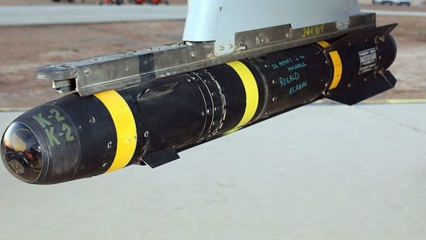 RAF Writes 'Love From Manchester' On ISIS Missile (Photo) Promo Image