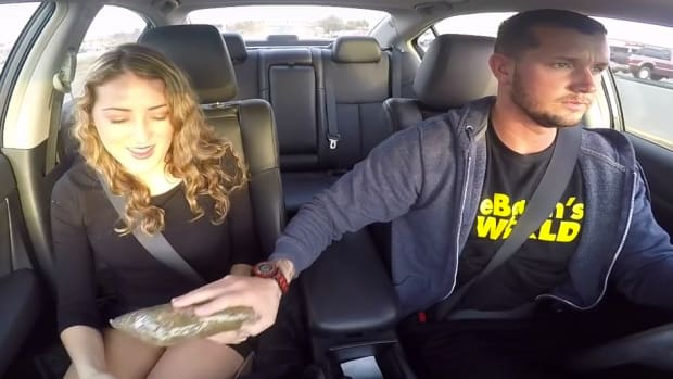 Uber Driver Pranks Passengers With Fake Drug Deal (Video) Promo Image