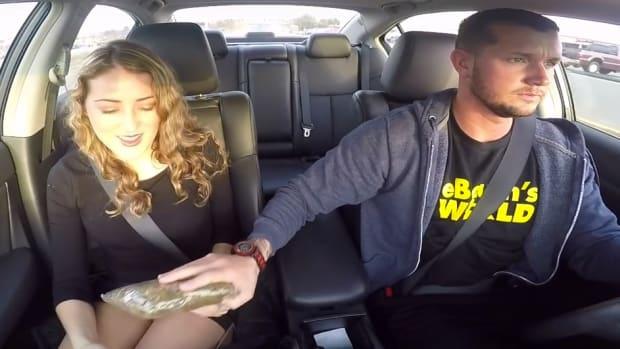 Uber Driver Pranks Passengers With Fake Drug Deal (Video) Promo Image