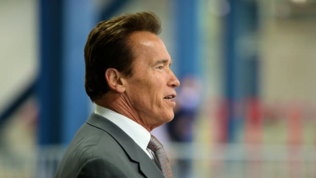 Schwarzenegger To Trump Protesters: 'Stop Whining' Promo Image
