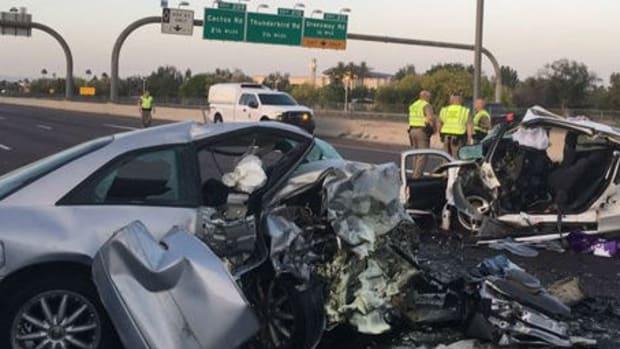 Wrong-Way Crash Kills Three People Promo Image