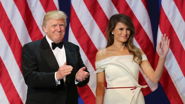 Rumors Swirl That Melania Is Cheating On Donald Promo Image