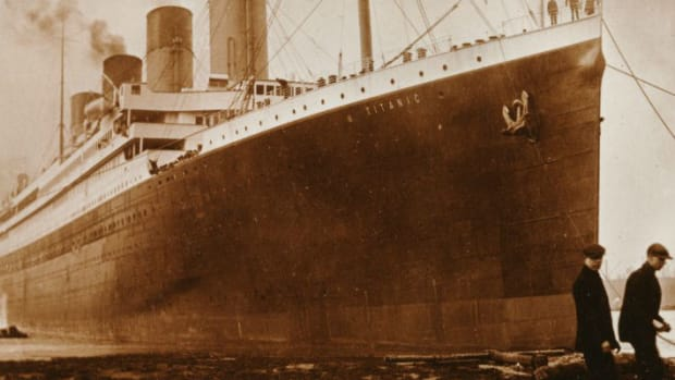 New Theory: Fire Helped To Sink The Titanic Promo Image