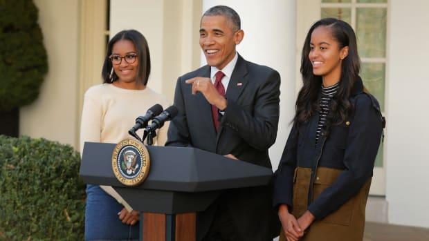 Where Was Sasha During Obama's Farewell Address? Promo Image