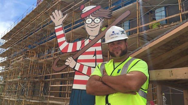 Site Foreman Hides Waldo For Hospitalized Kids (Photos) Promo Image