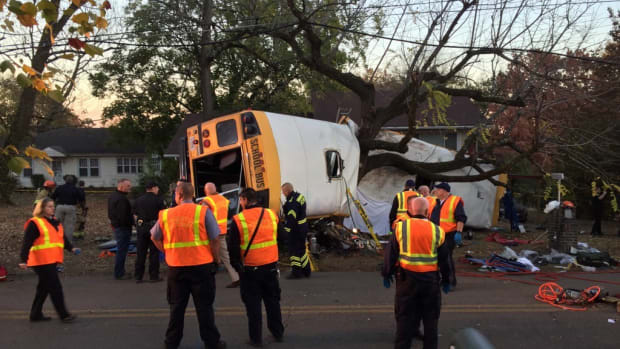 School Bus Crash Kills 5 Children, Driver Arrested Promo Image
