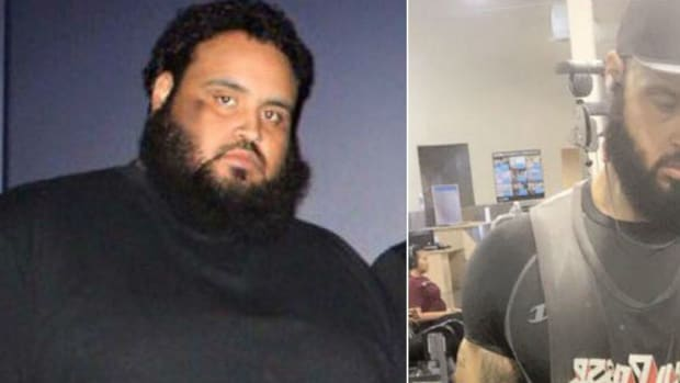 Man Loses 300 Pounds Walking To Wal-Mart (Photos) Promo Image