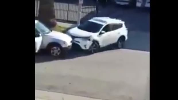 Wild Road Rage Between Women Over Parking Space (Video) Promo Image