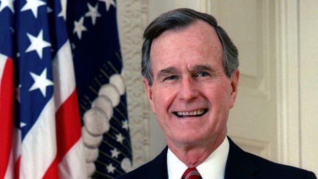President George H. W. Bush Hospitalized Promo Image