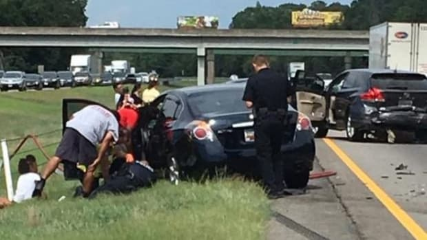 Truly Shocking Image Of Car Wreck Goes Viral For One Reason That's Hard To Spot Promo Image