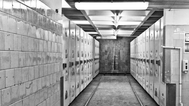 Terrifying Clip Shows Morgue Doors Slamming Shut (Video) Promo Image