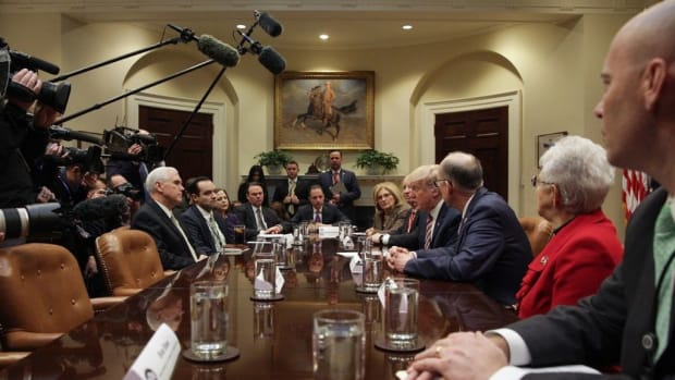 Republican Critical Of Celebration Over Health Care Promo Image