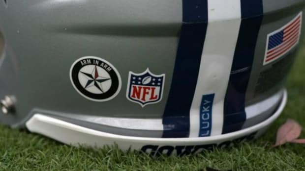 NFL Bans This Pro-Police Decal (Photo) Promo Image