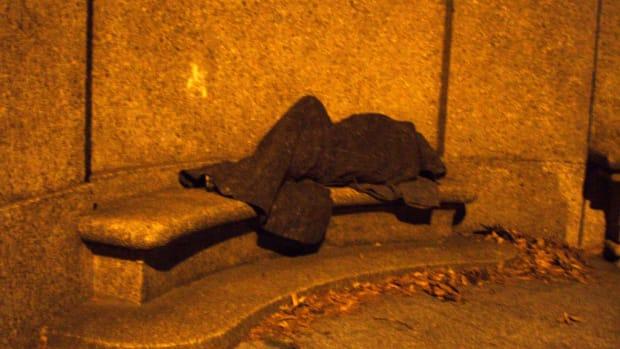 Denver Police Take Blankets From Homeless Man (Video) Promo Image
