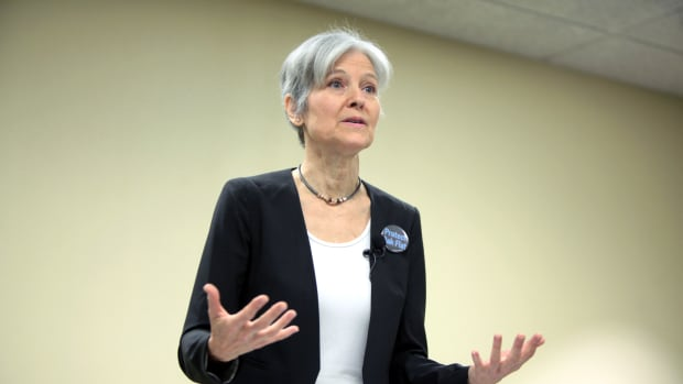 Sanders To Supporters: Do Not Vote For Jill Stein Promo Image