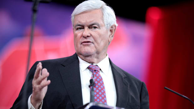 Gingrich: Trump Failing To Act Presidential Promo Image
