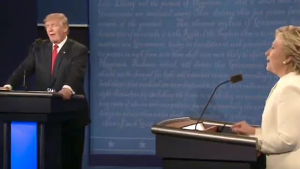 Trump Calls Clinton A 'Nasty Woman' During Debate (Video) Promo Image