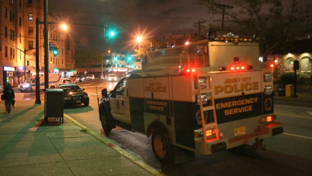 New Jersey Cops Kick Burning Victim Of Car Crash (Video) Promo Image