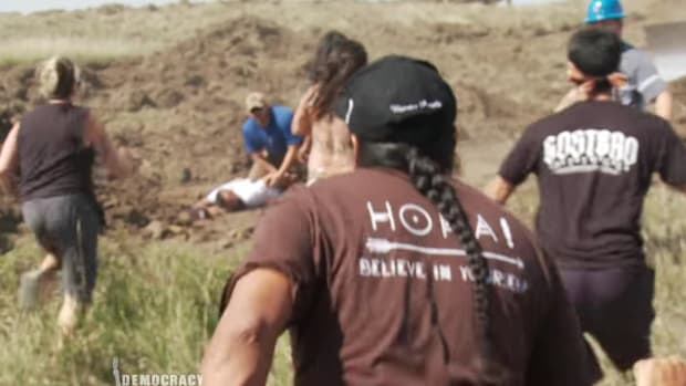 Tribe: Company Security Attacked ND Protesters (Video) Promo Image