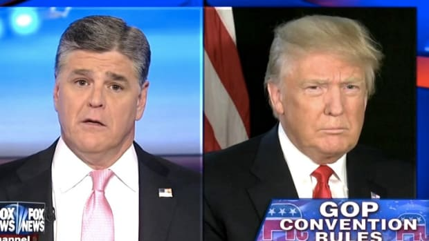 Report: Hannity And Trump Plan Attack On Bill Clinton Promo Image
