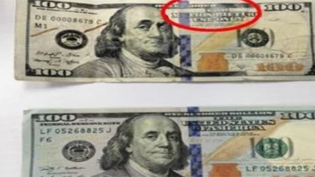 Call The Police If You Find These $100 Bills (Photo) Promo Image
