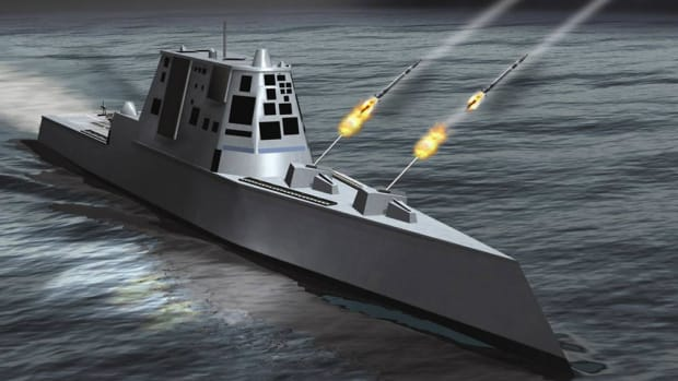 The Navy's New Gun Costs Too Much To Use Promo Image