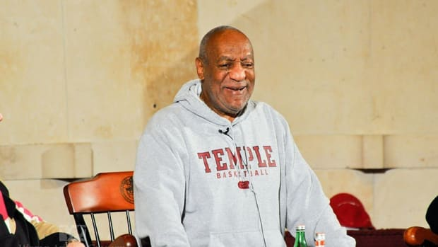 Bill Cosby Escorted Into Court By 'Cosby Show' Costar Promo Image