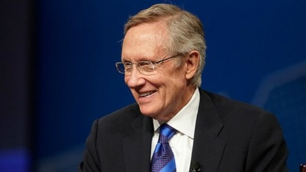 Sen. Harry Reid Delivers Final Thoughts Before Retiring Promo Image