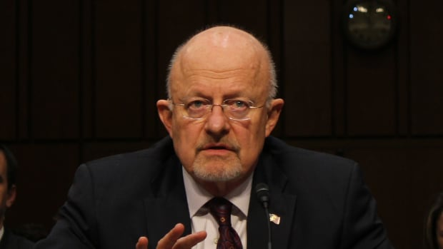 Clapper: 'No Evidence' Russia Recruited Trump Aides Promo Image