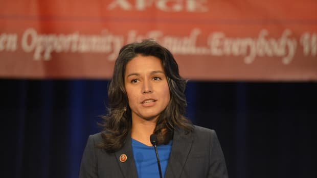 Rep. Gabbard: US Must Stop Arming Terrorists (Video) Promo Image