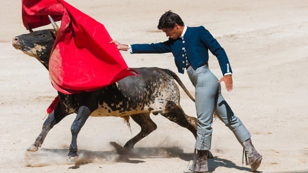 One-Eyed Matador Is Gored In Bullfight (Video) Promo Image